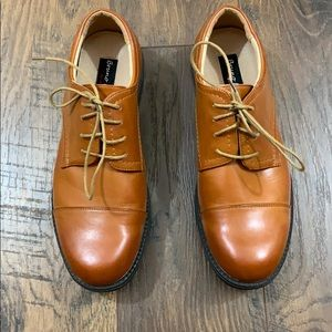 Bruno Marc leather oxford shoes